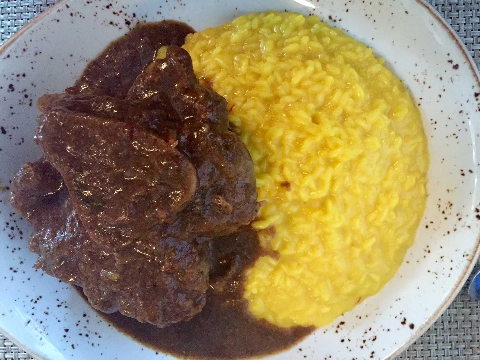 risotto con ossobuco