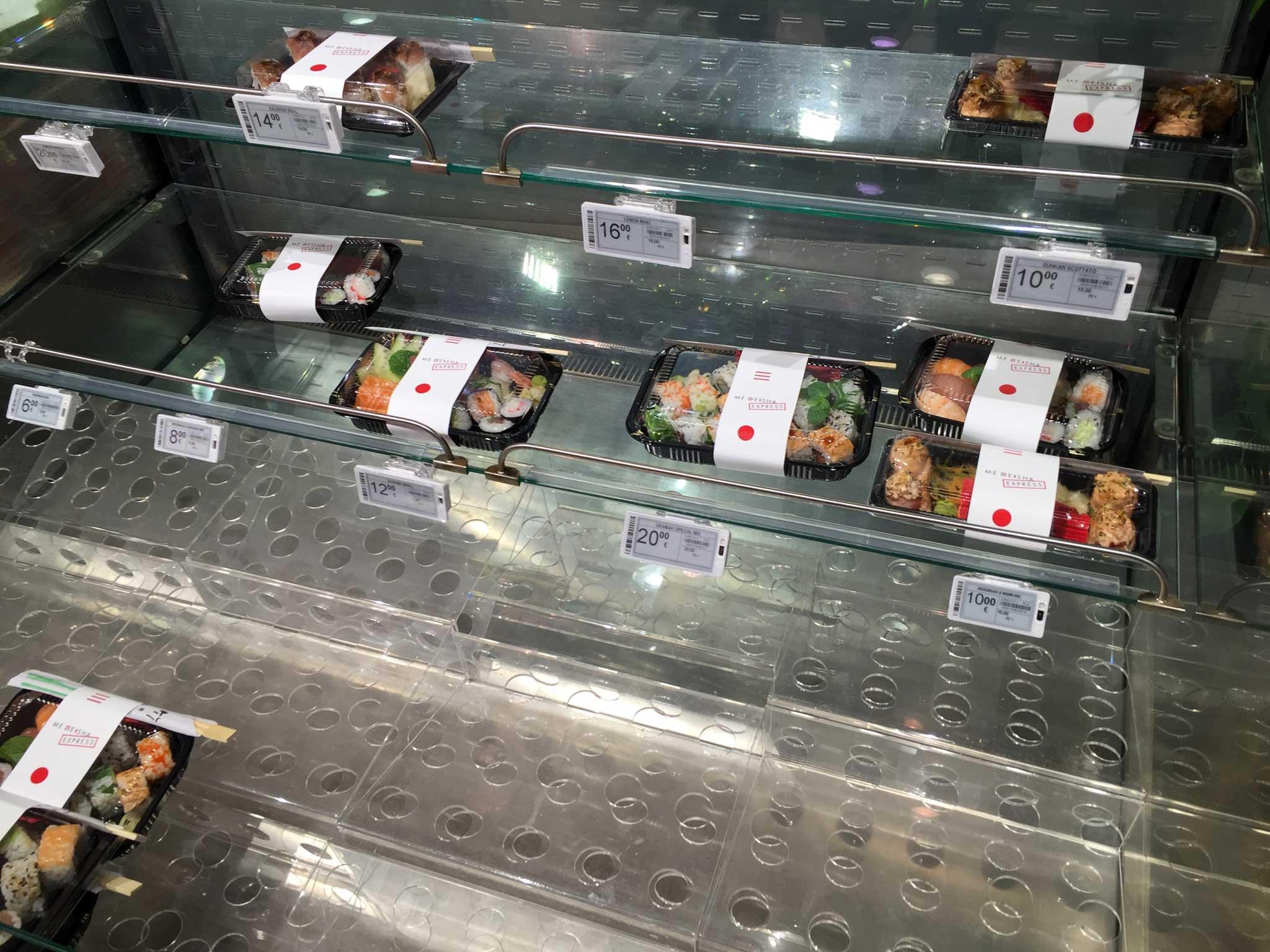 sushi supermercato Napoli