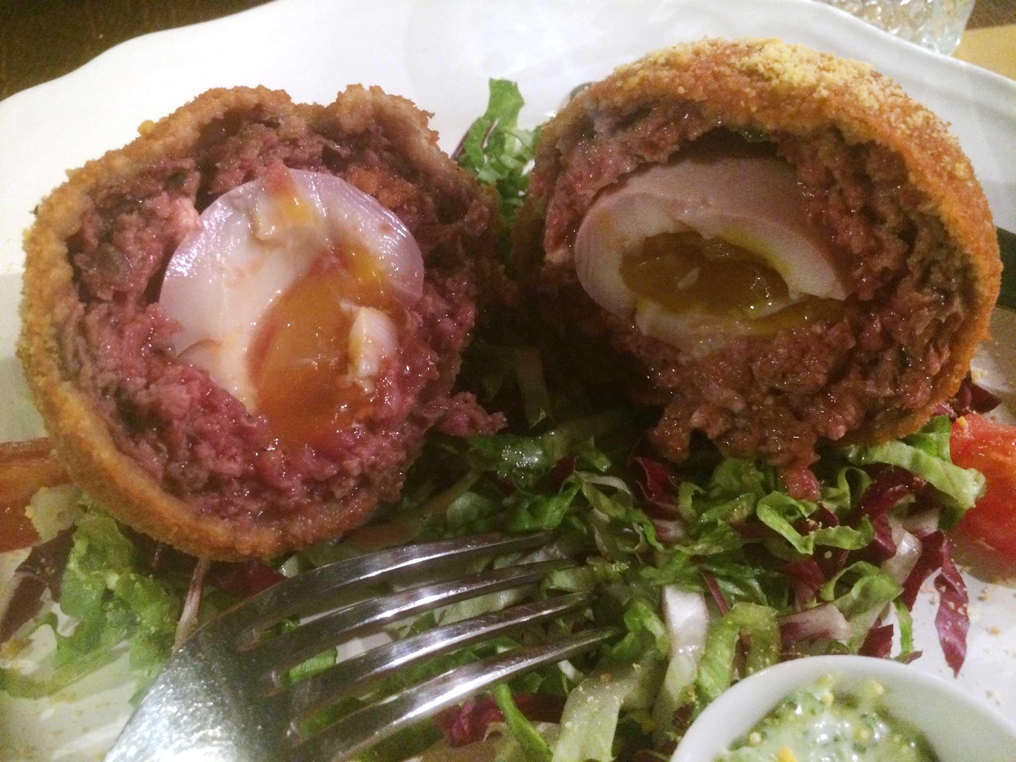 uovo e carne