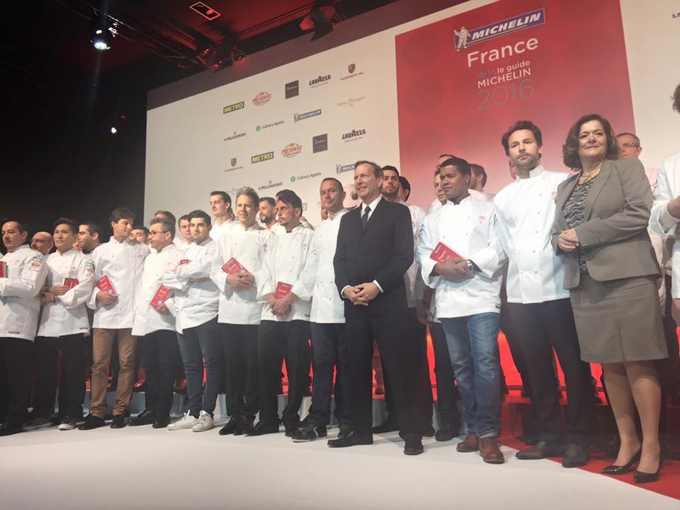 42 nuove stelle Michelin Francia 2016