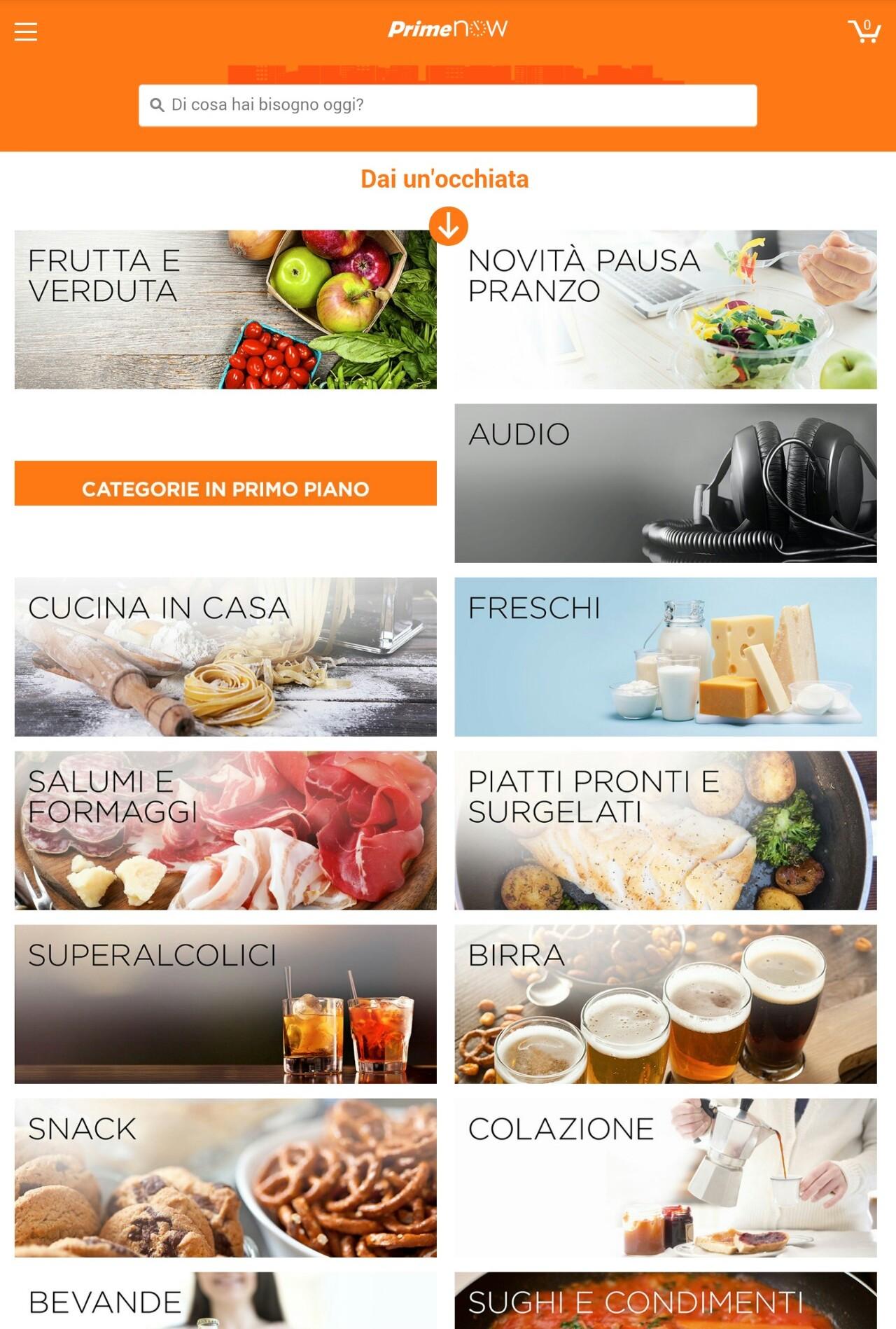 Amazon spesa Milano