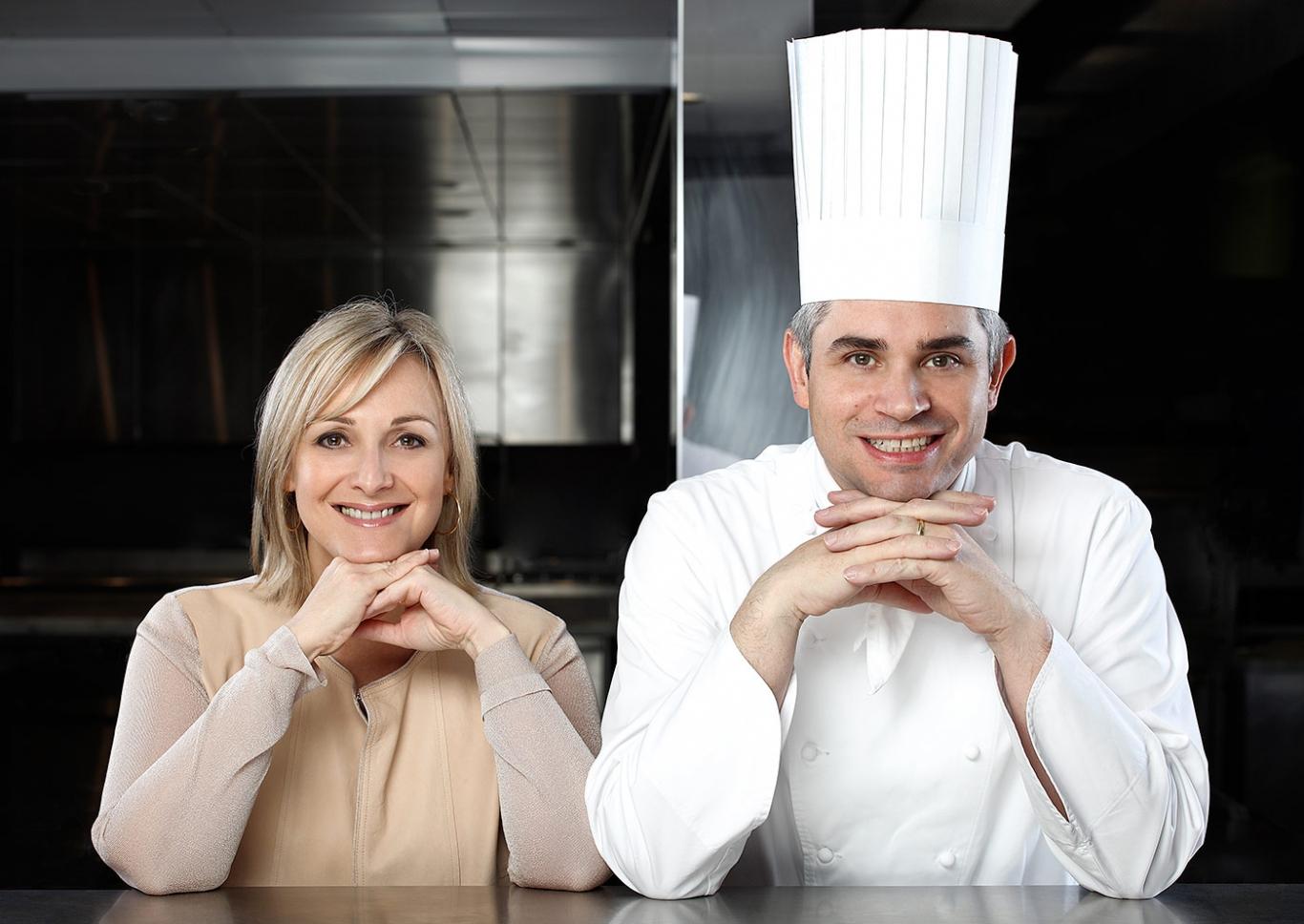 Brigitte e Benoit Violier