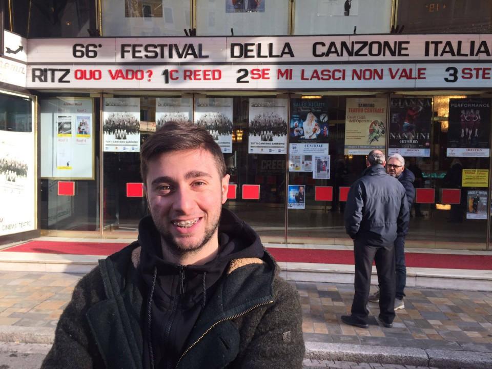 Ciro Oliva a Casa Sanremo