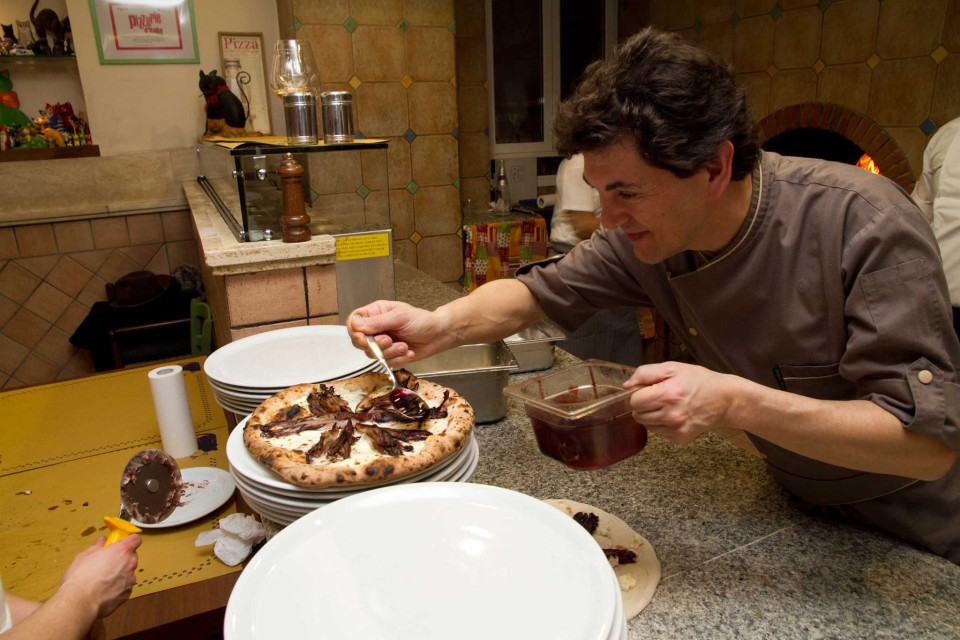 Davide Bisetto chef stella Michelin pizzeria