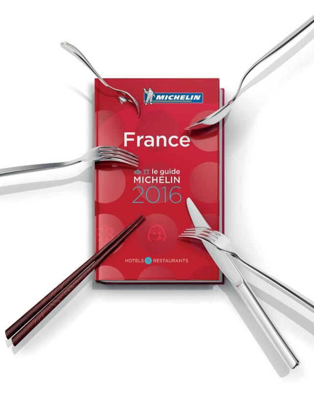 Guida Michelin 2016 Francia