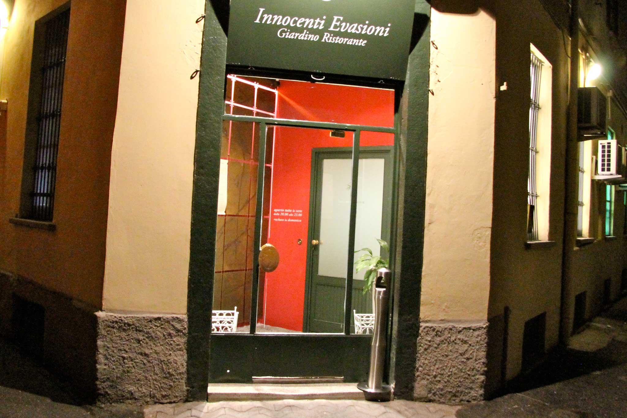 Innocenti Evasioni ristorante Milano