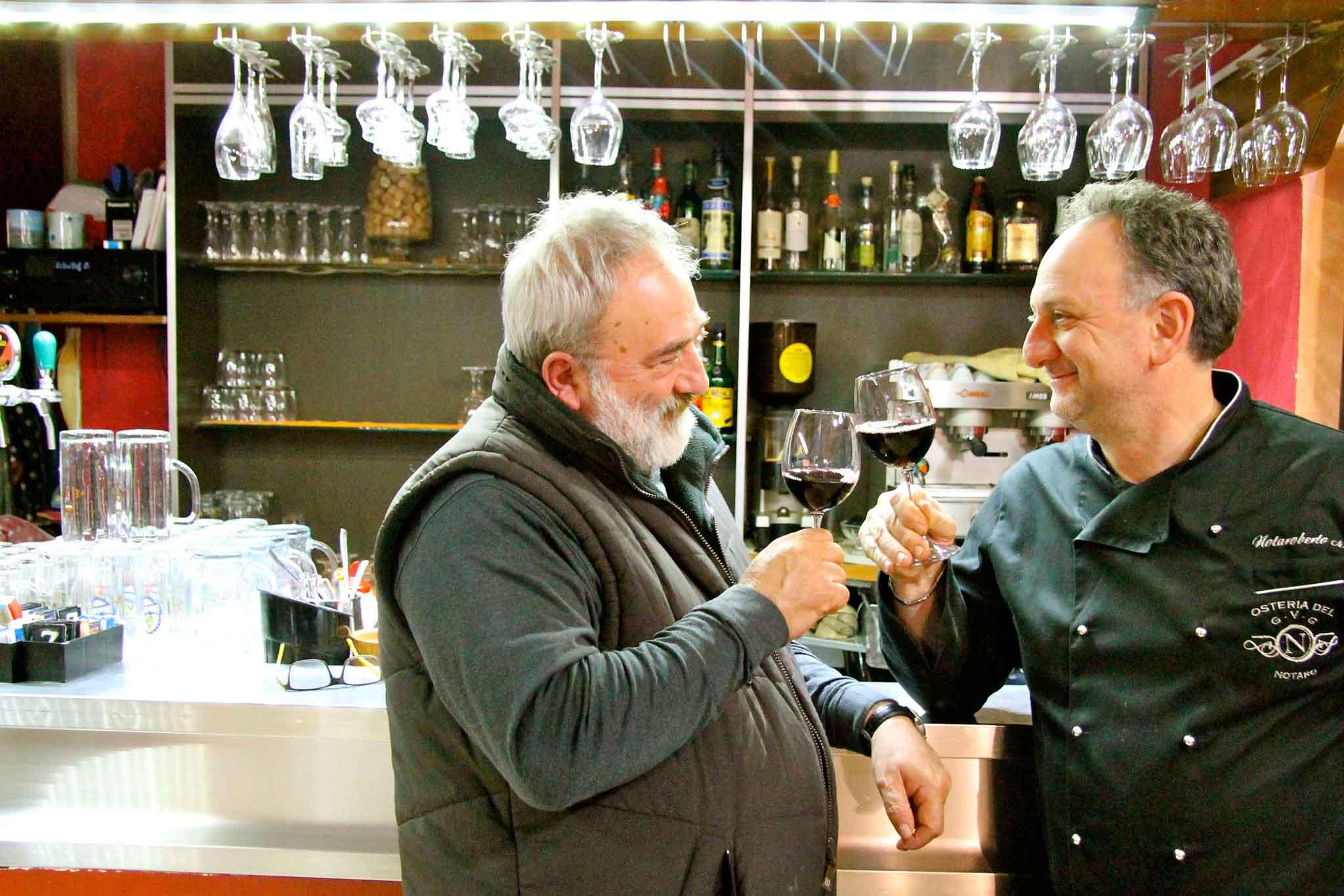 Mario e Augusto Notaroberto