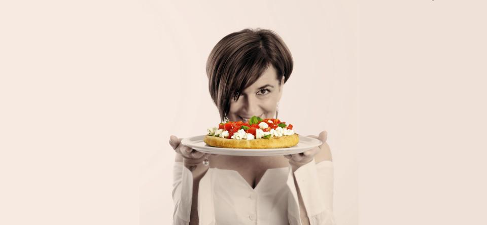 Marzia Buzzanca e la pizza