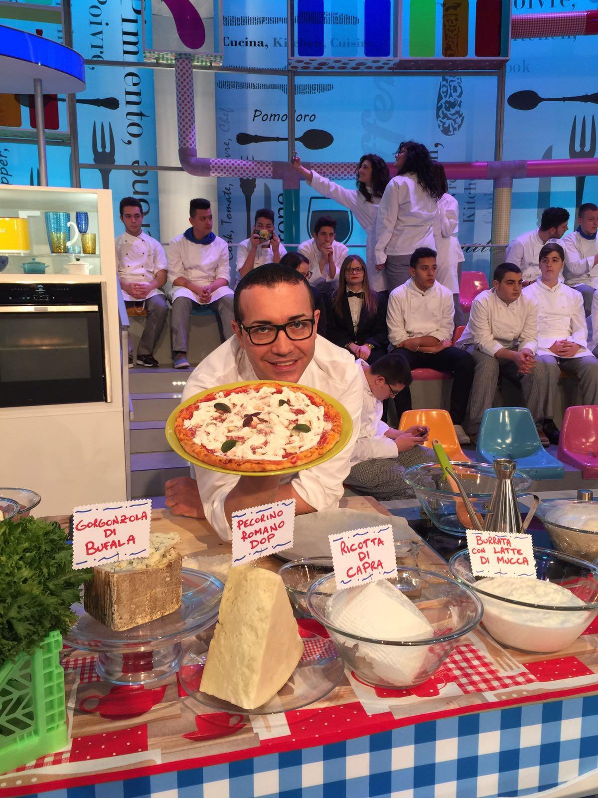 Prova del Cuoco. Gino Sorbillo e la pizza ai Quattro Latti