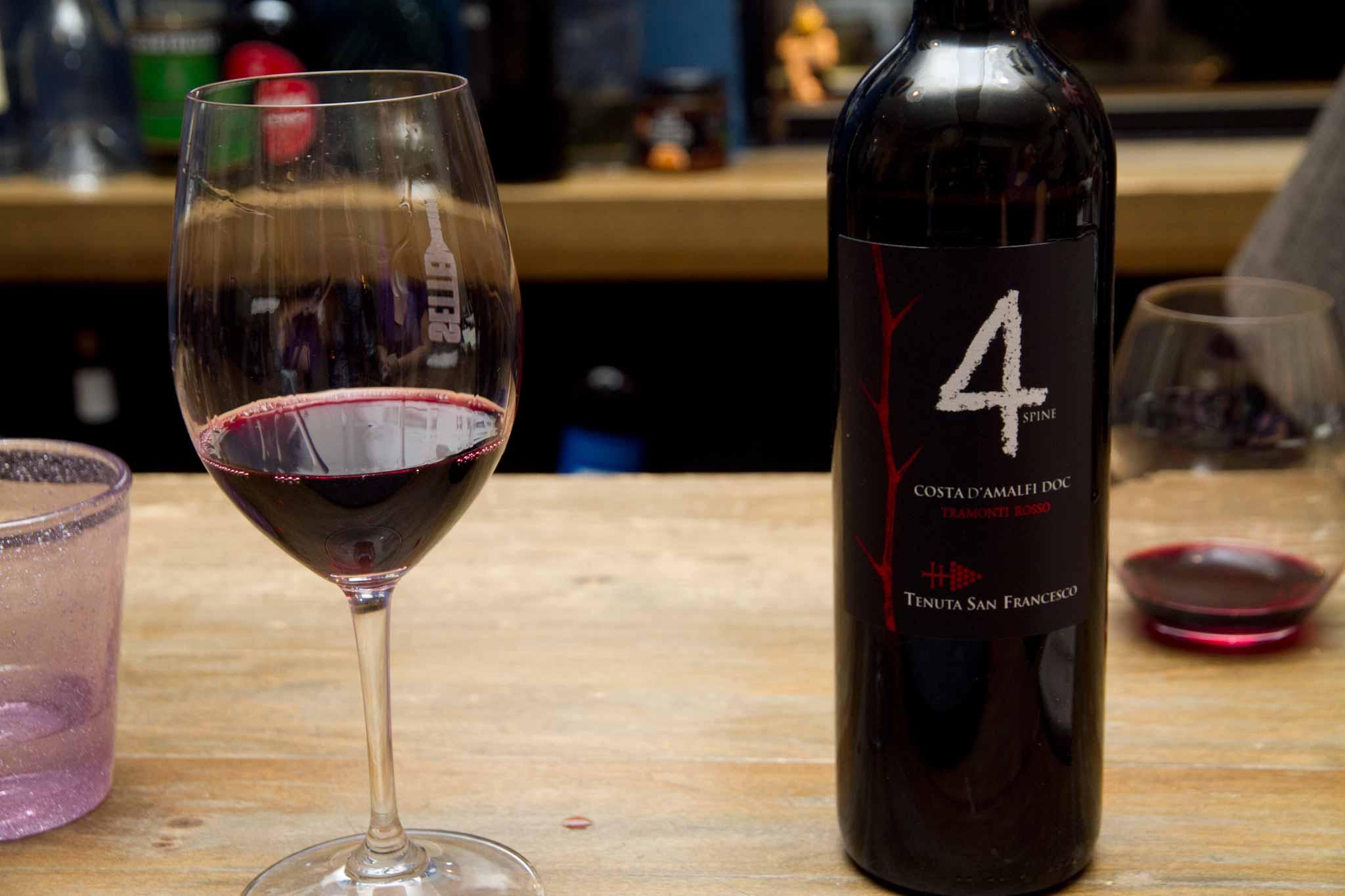 Tramonti rosso vino Tenuta San Francesco