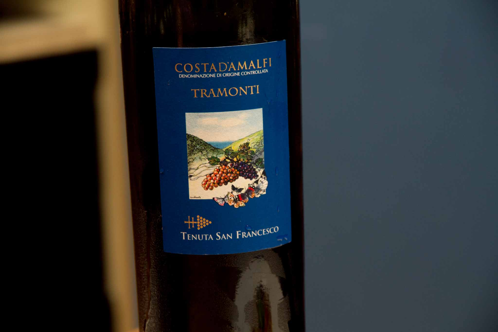 Tramonti vino Tenuta San Francesco