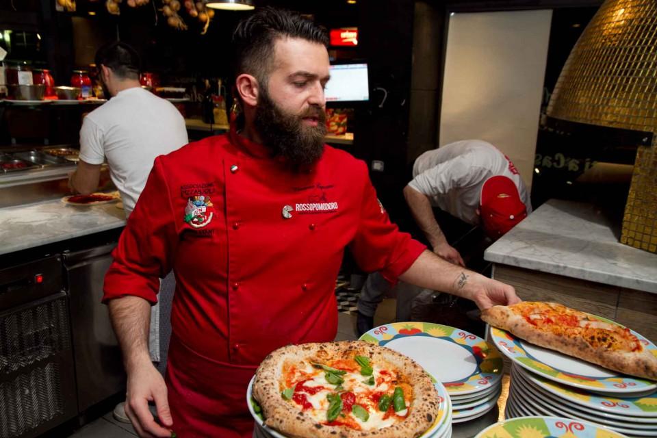 cottura pizze Capuano