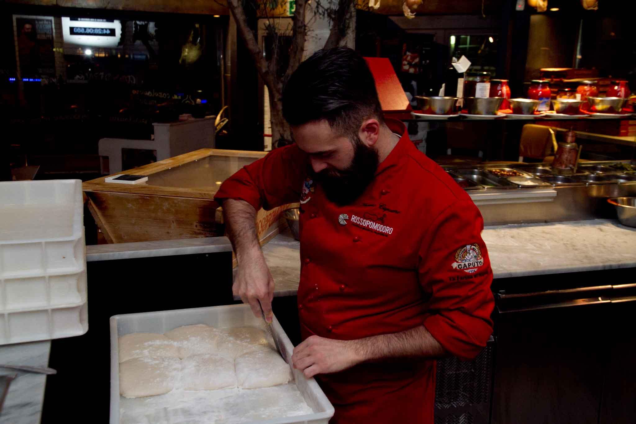 impasto pizza Vincenzo Capuano