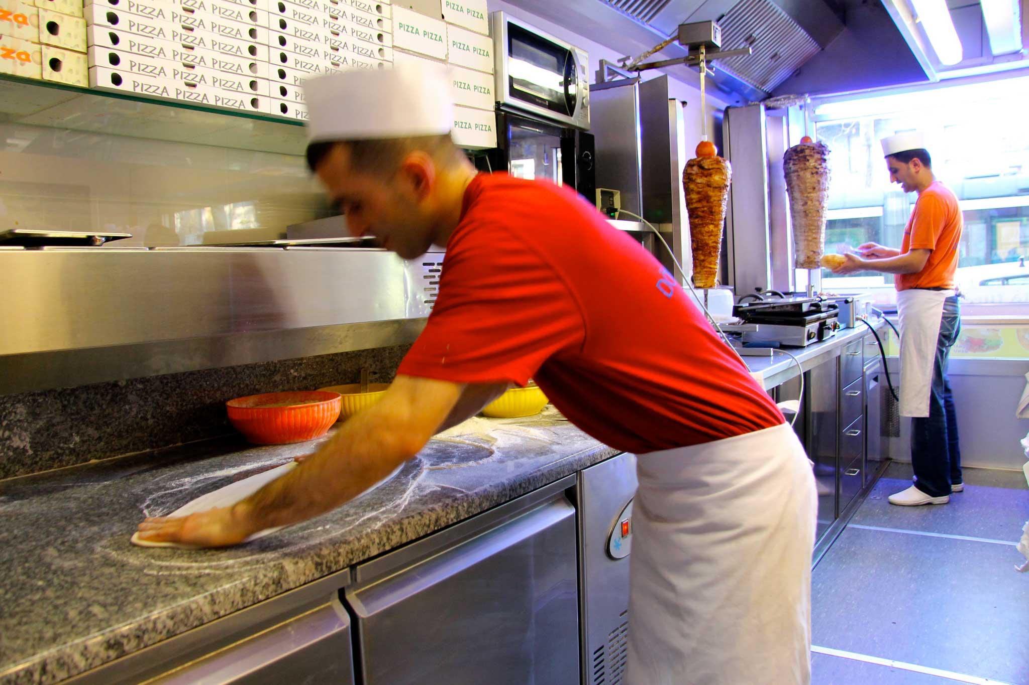 kebab lavorazione