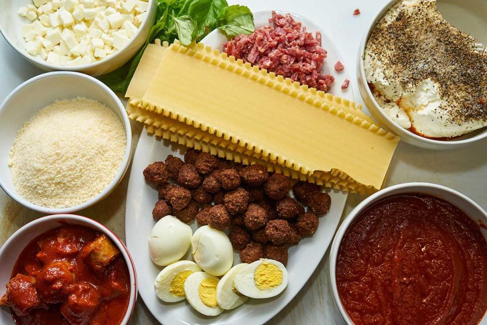 lasagna ricetta ingredienti