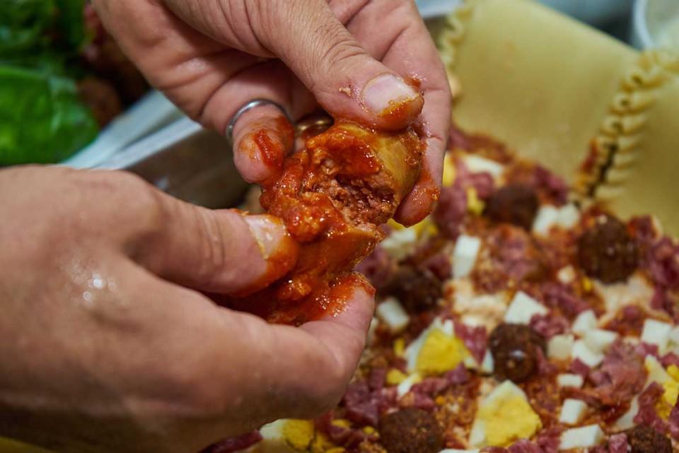 lasagna napoletana ricetta cervellatine