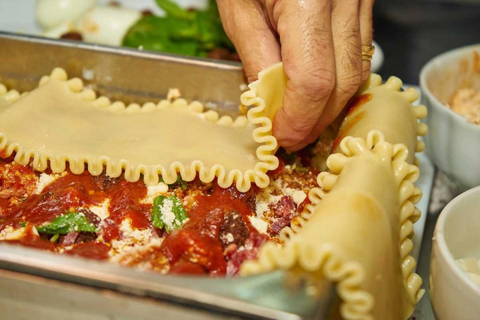 lasagna napoletana ricetta strato pasta