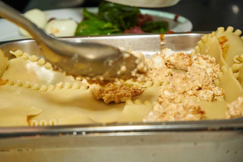 lasagna napoletana ricetta strato ricotta