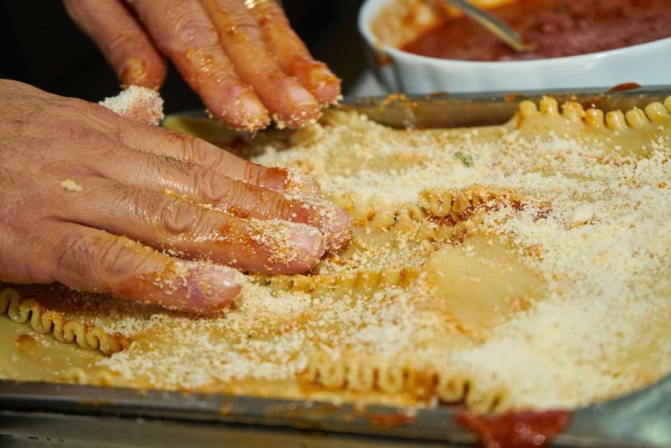 lasagna napoletana ultimo strato