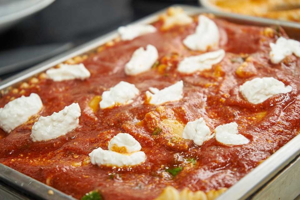 lasagna napoletana ricetta pronta per il forno