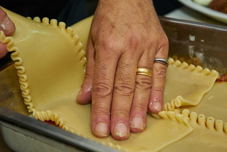 lasagna napoletana ricetta preparazione