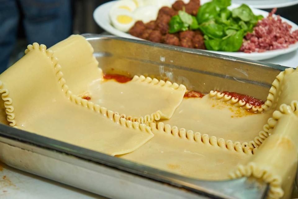 lasagna napoletana ricetta strati
