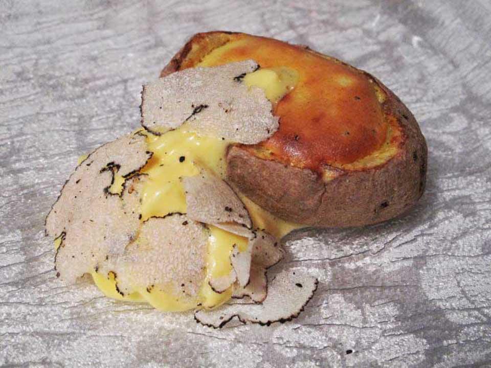 patata tartufo Massimo Bottura