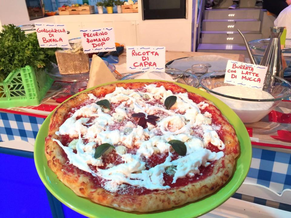 pizza Quattro Latti Prova del Cuoco