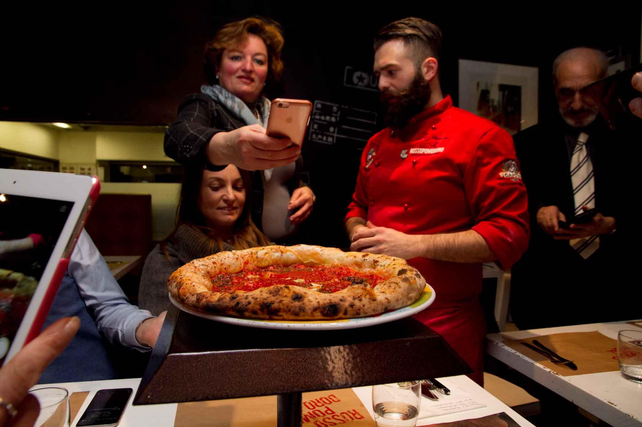 pizza fotografata