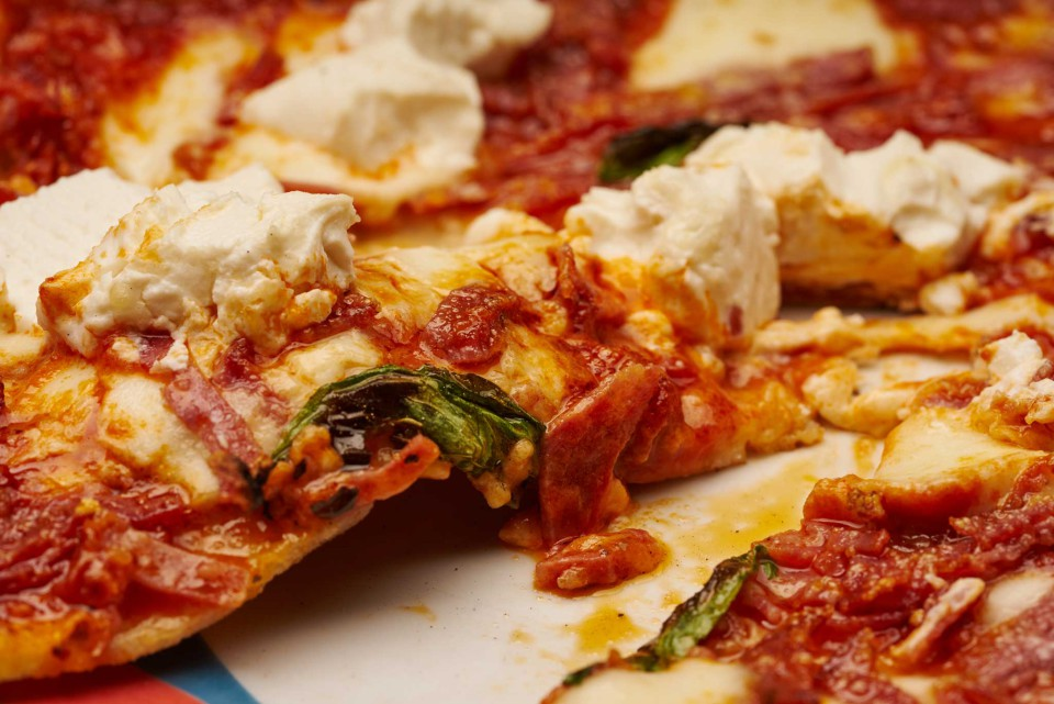 pizza lasagnella Rossopomodoro