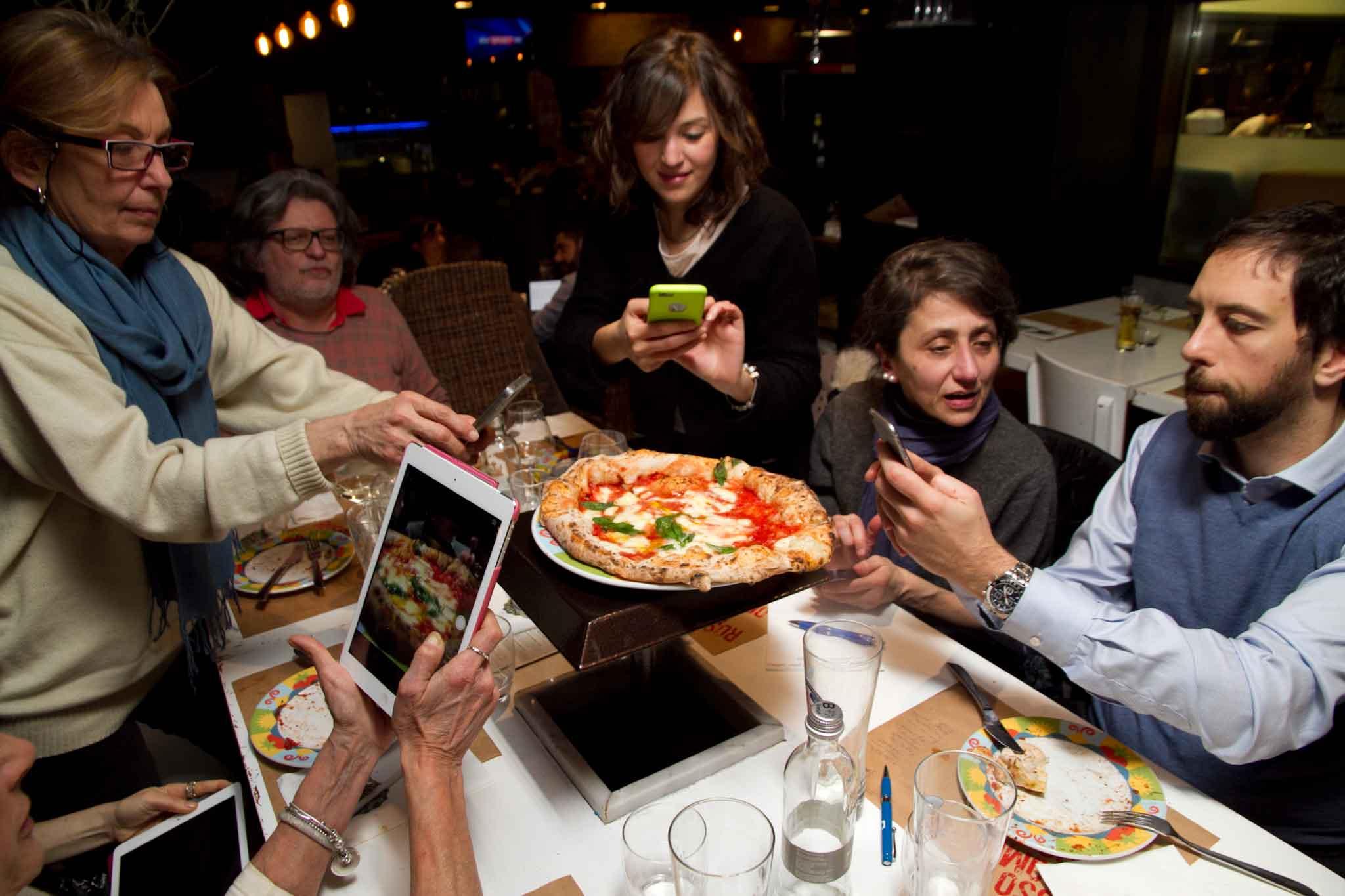 pizza margherita foto