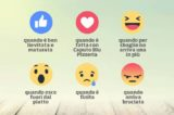 Social pizza. Usare le reaction di Facebook per commentarla