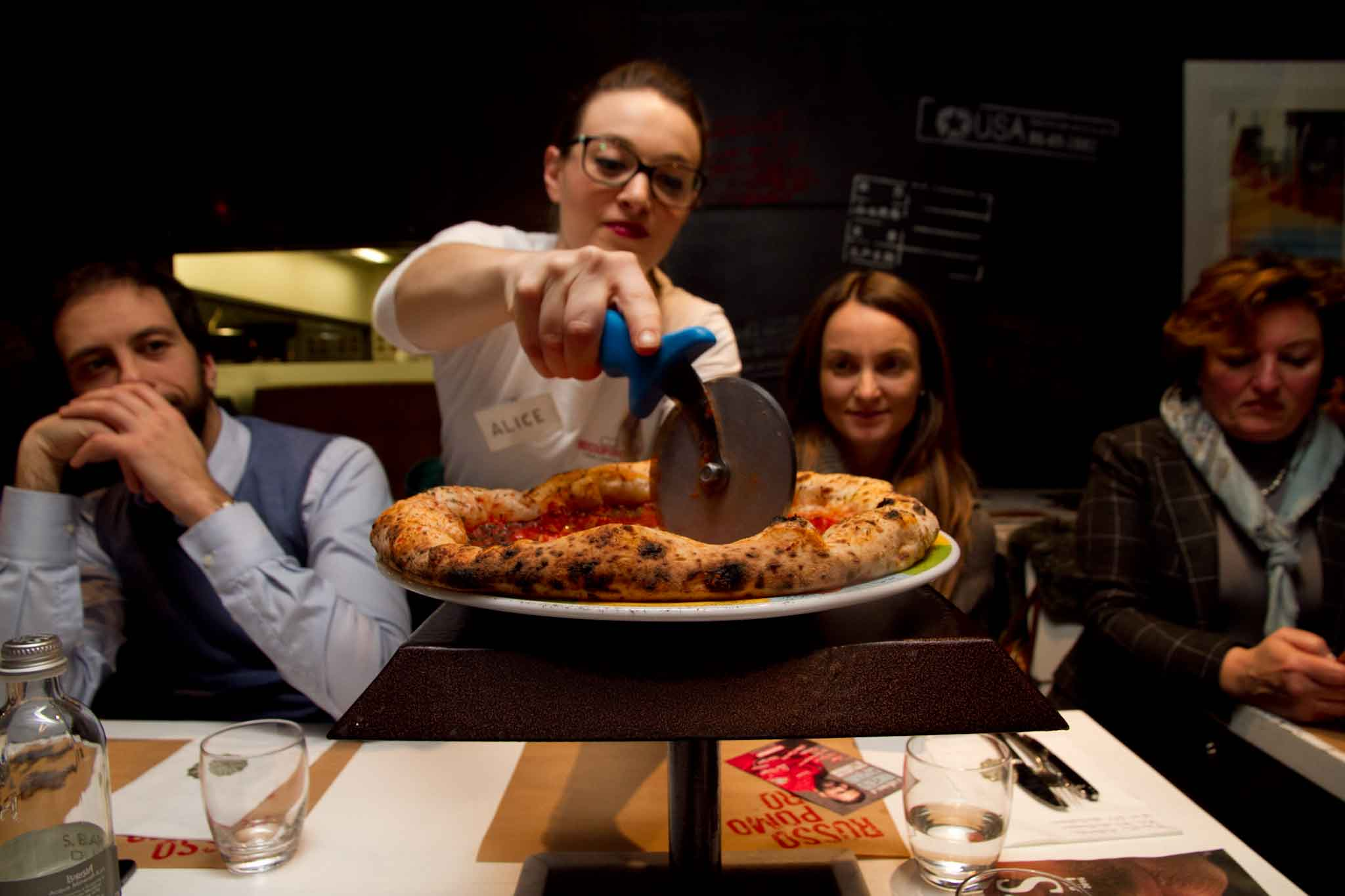 taglio pizza
