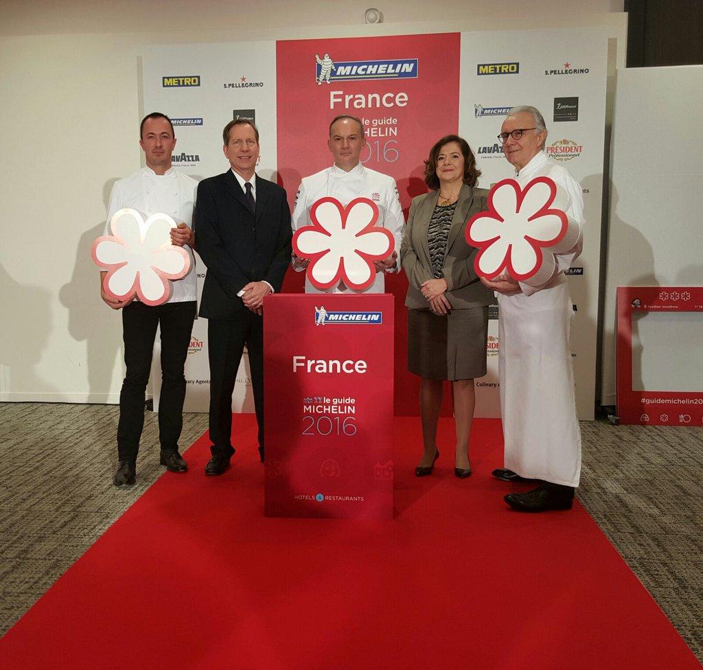 tre stelle Michelin 2016 Francia