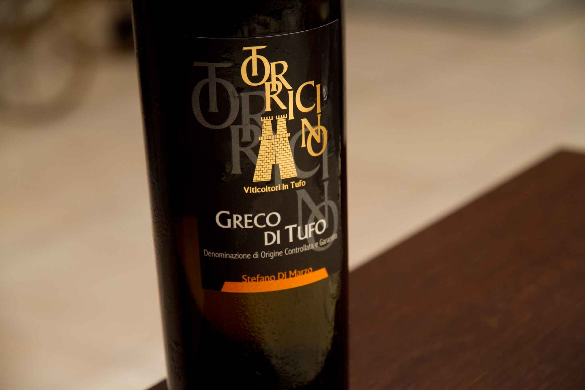 vino Greco di Tufo Torricino