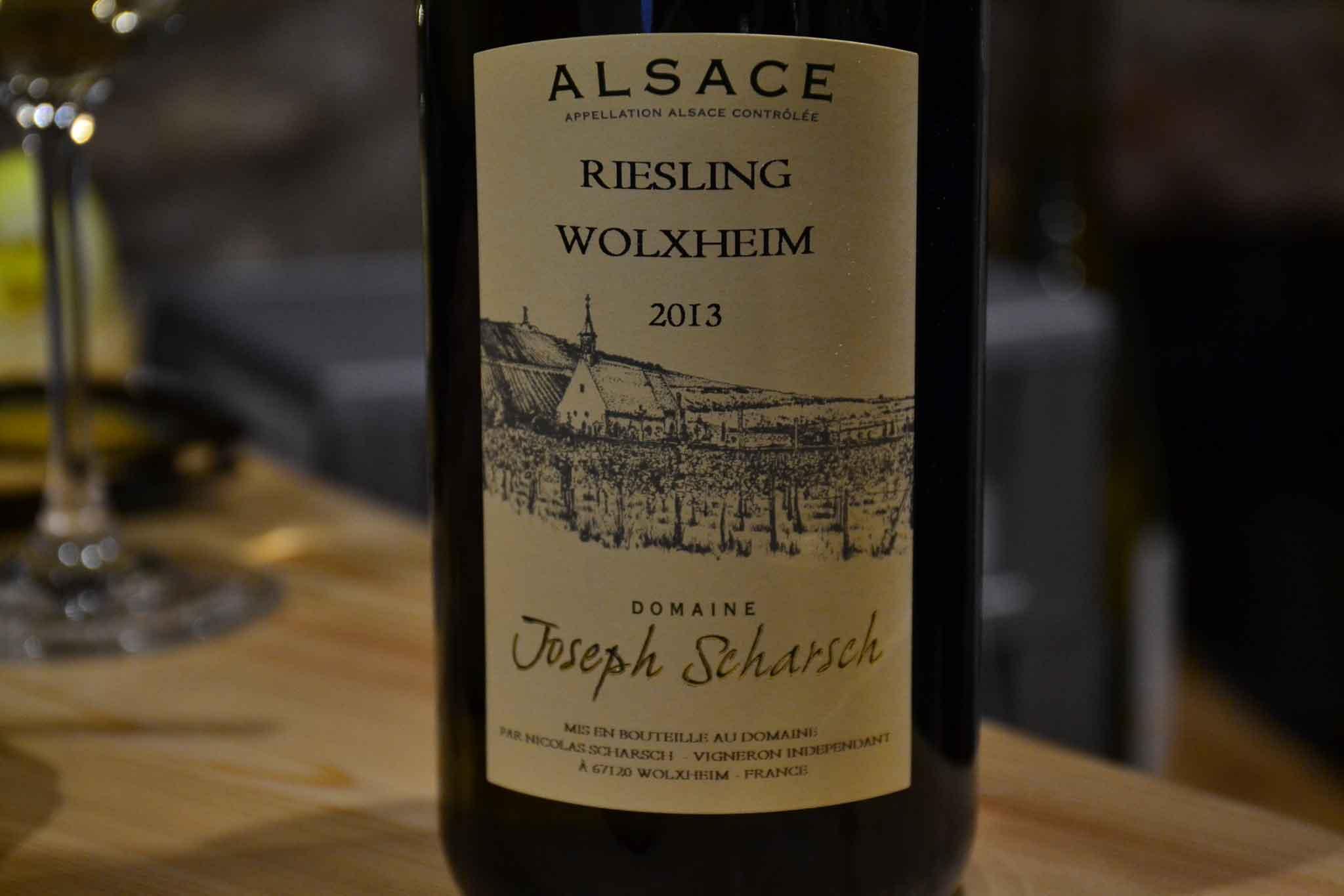 Alsazia Scharsch Riesling Wolxheim