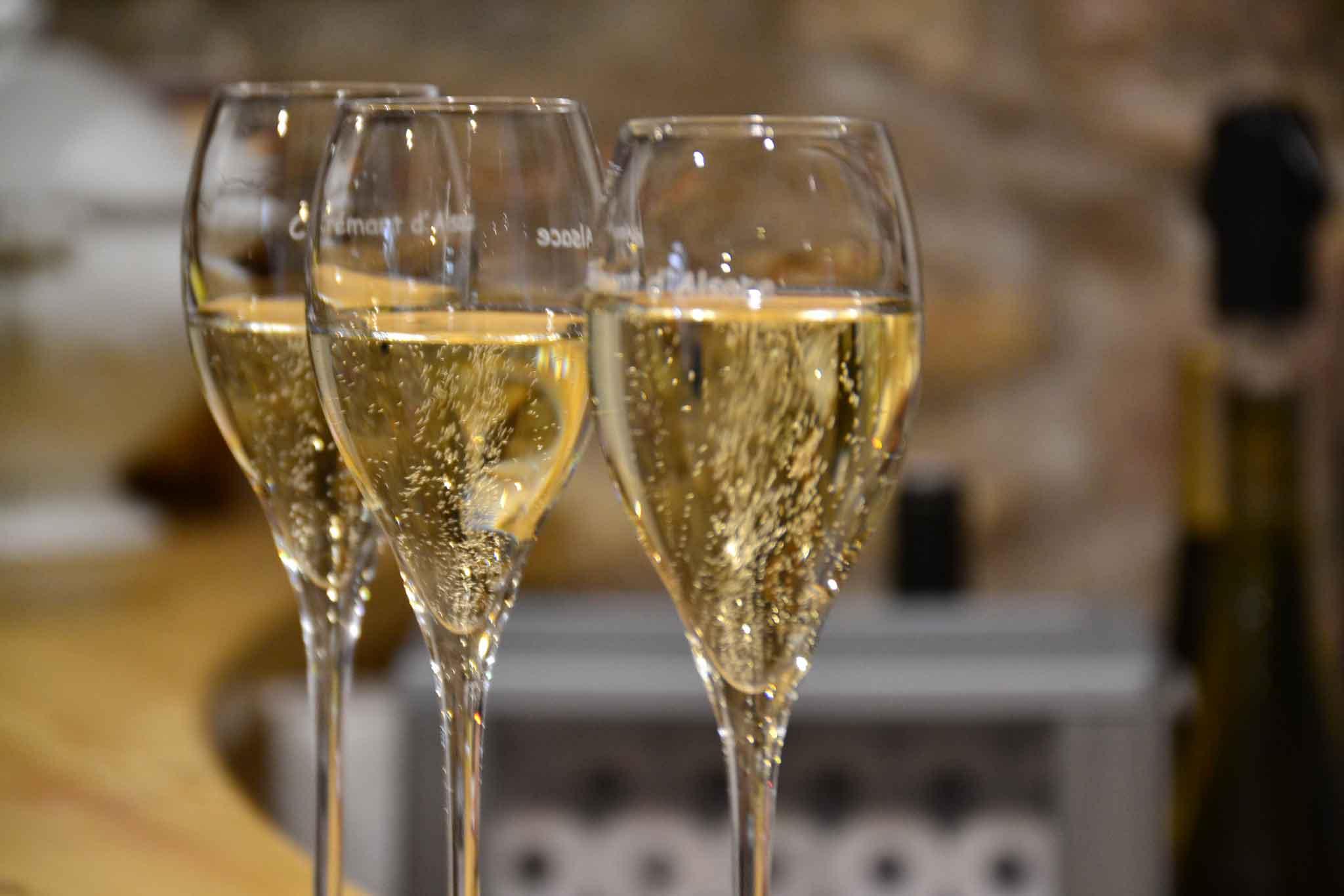 Alsazia Scharsch calici vino