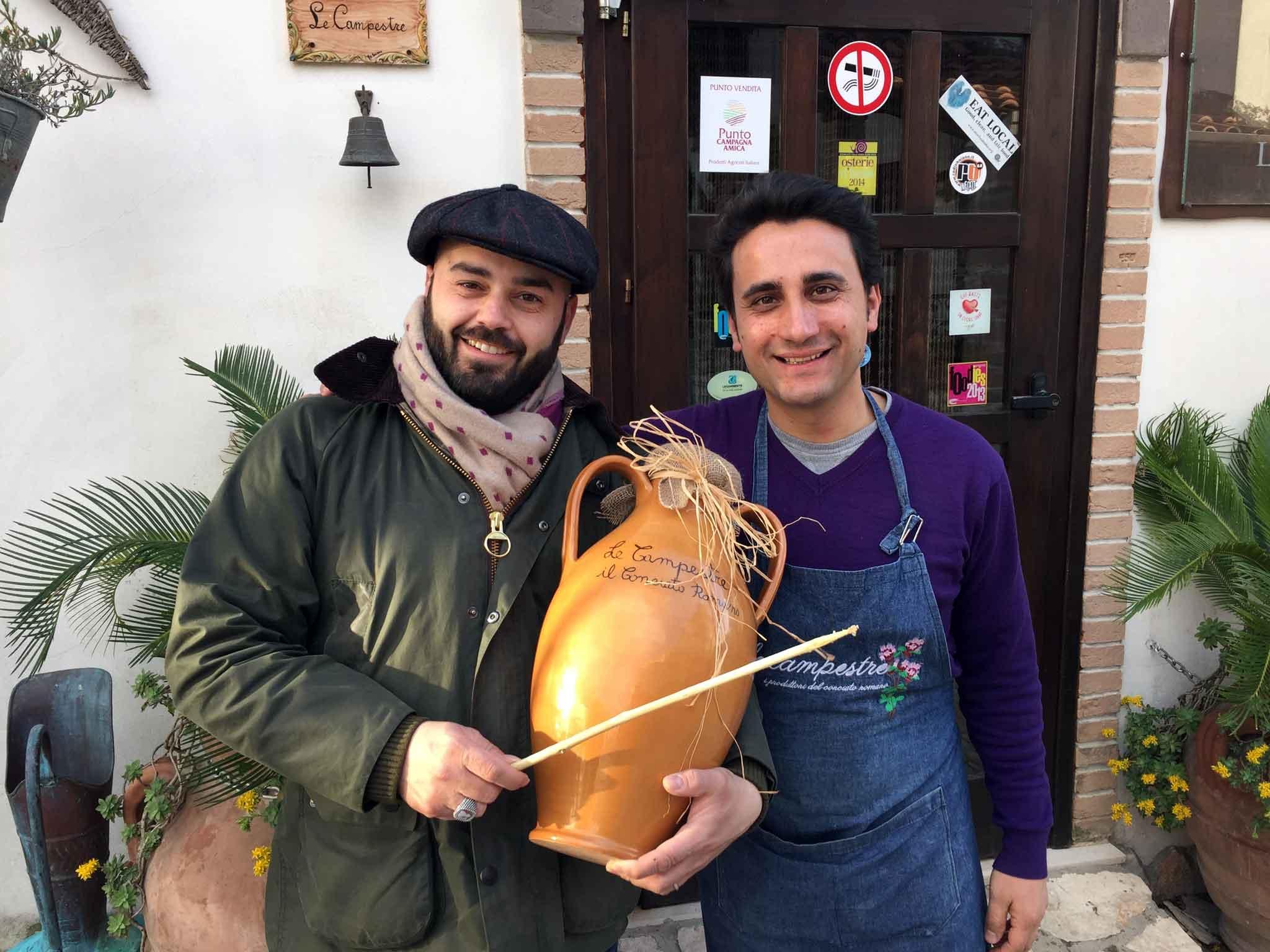 Ciro Arenella e Manuel Lombardi