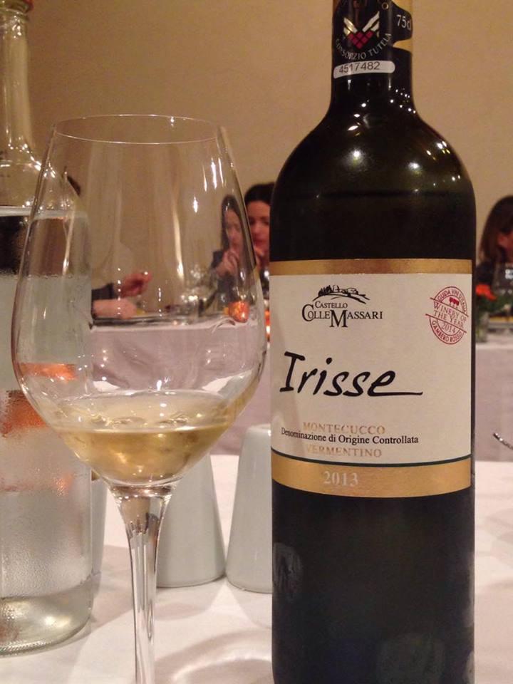 Colle Massari vino Irisse