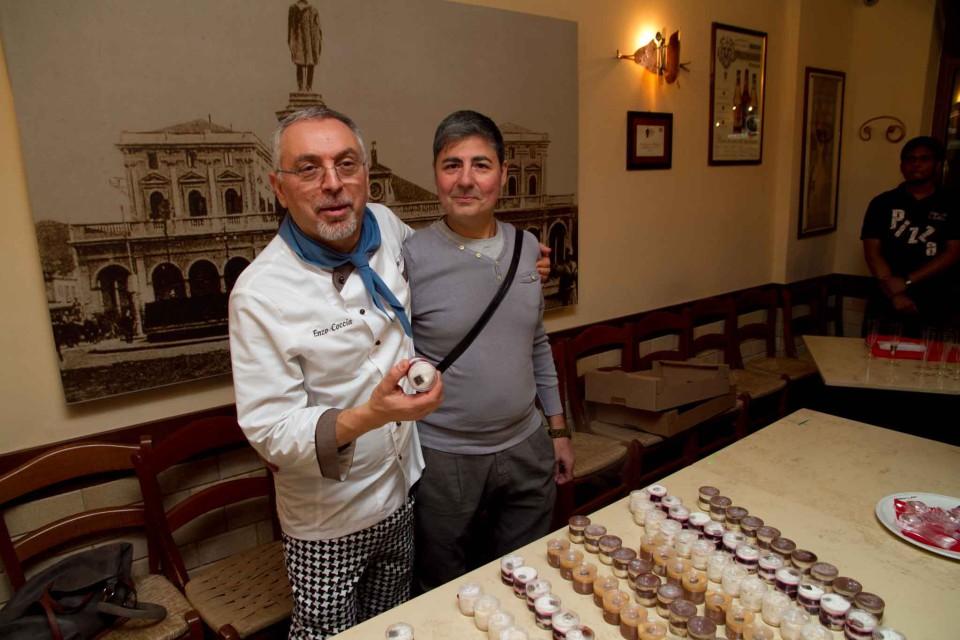 Enzo Coccia e Salvatore Capparelli