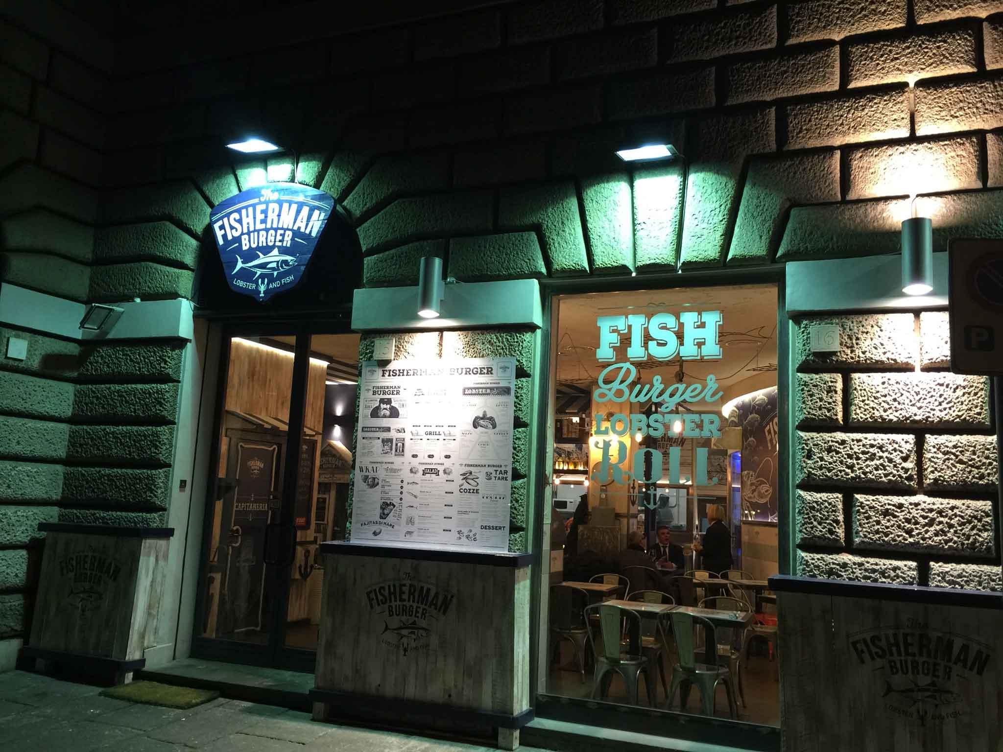 Fisherman Burger Roma