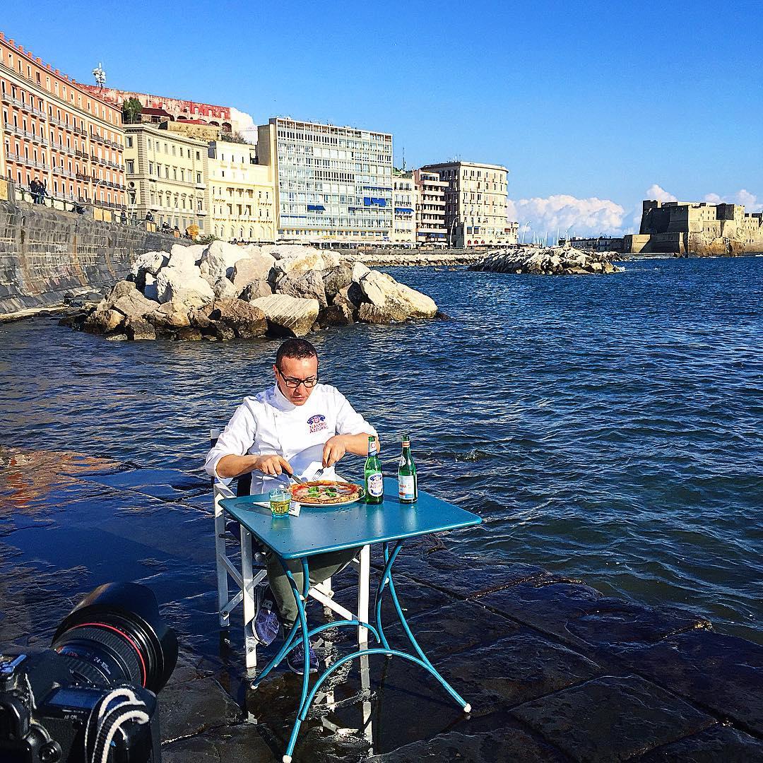 Gino Sorbillo pizza a mare