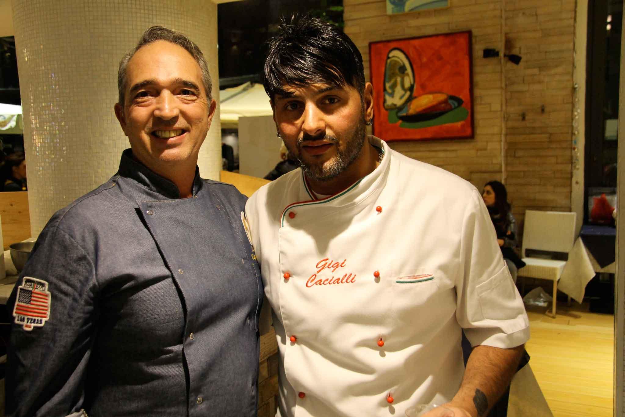 Luigi Capuano e Gigi Cacialli