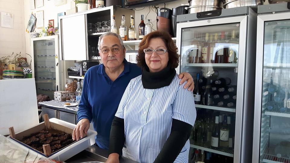 Marino Raimondi e moglie