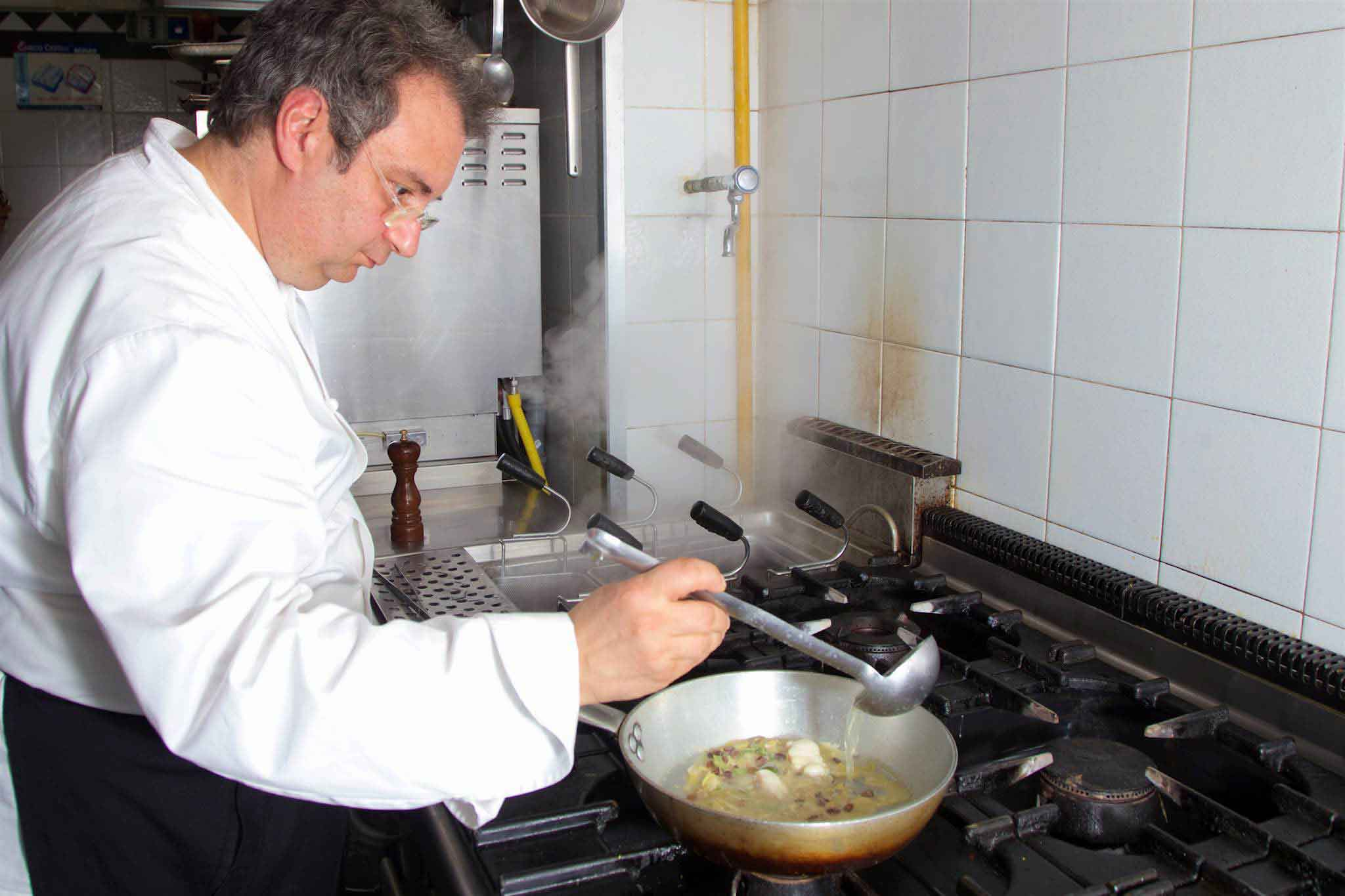 Paolo Gramaglia cucina