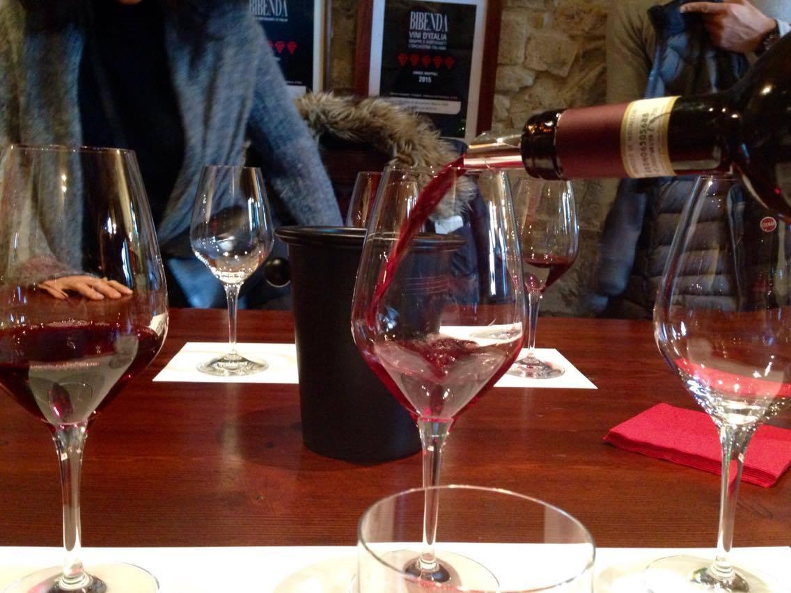 Poggi di Sotto degustazione vino