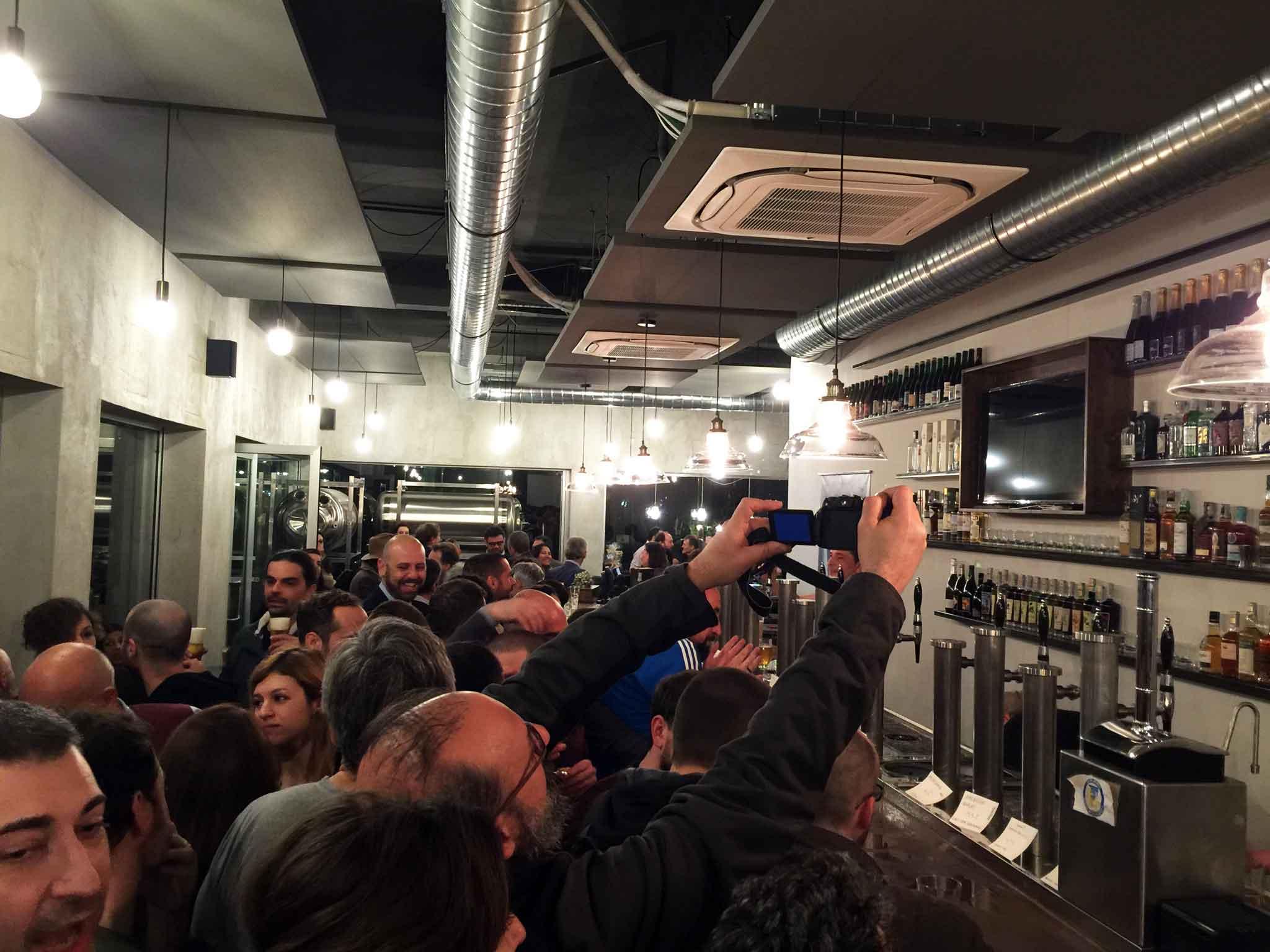 Sbanco apertura nuova pizzeria pub Roma