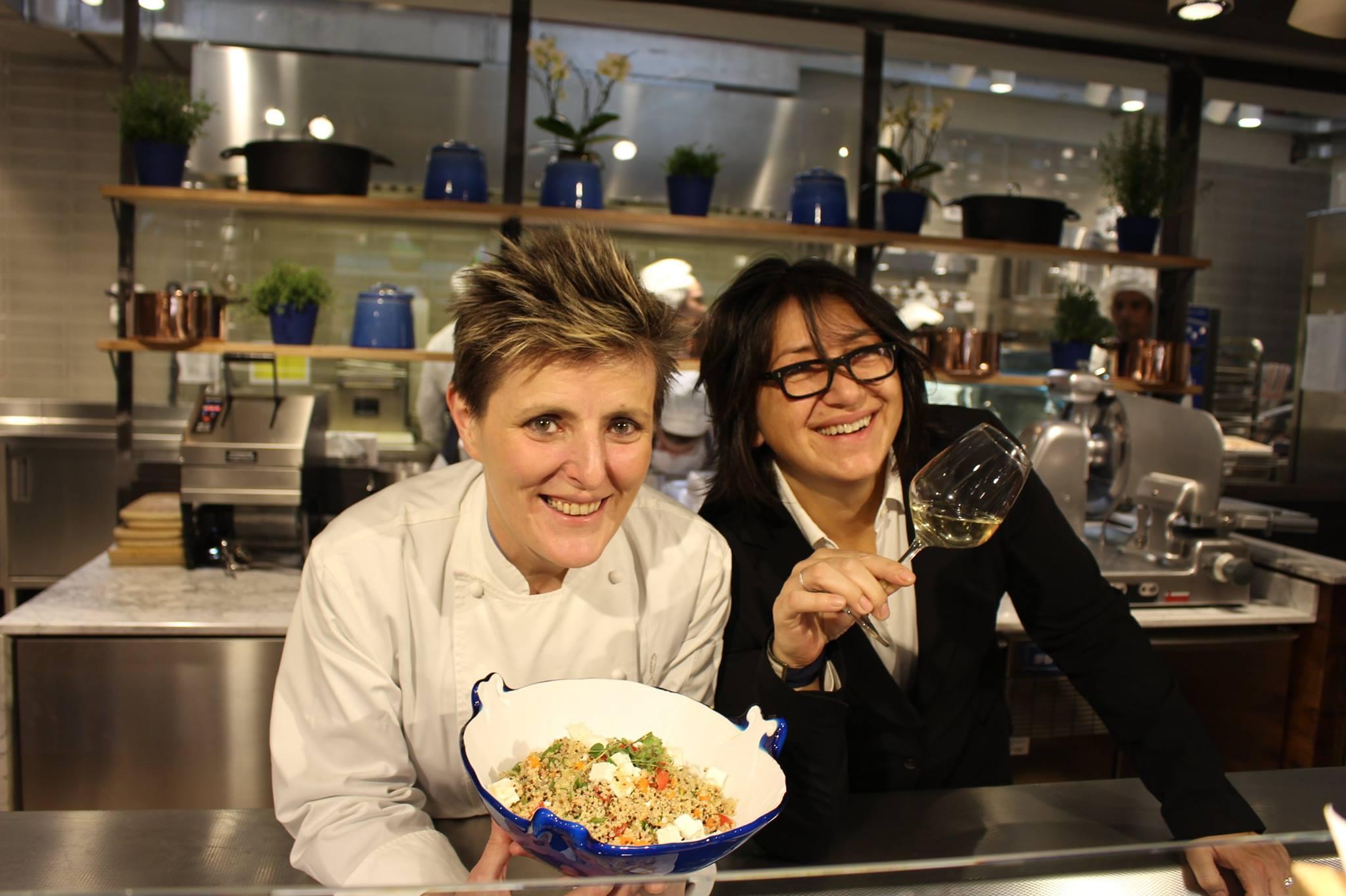 Viviana Varese e Sandra Ciciriello