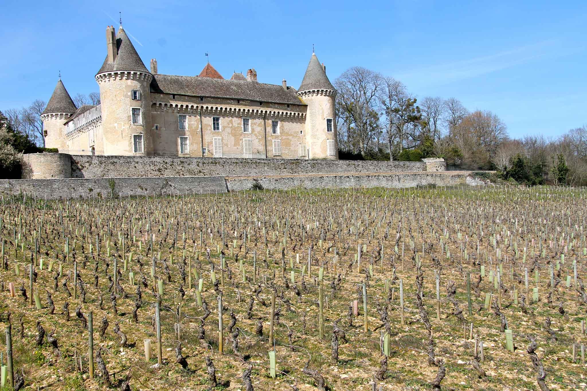 castello in Borgogna