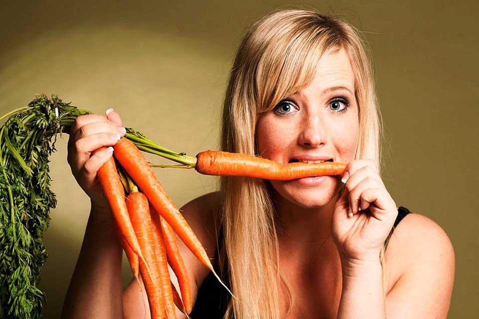 donna vegana